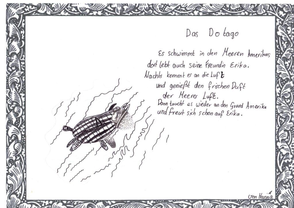 Fantastisches Gedicht von Hanna.