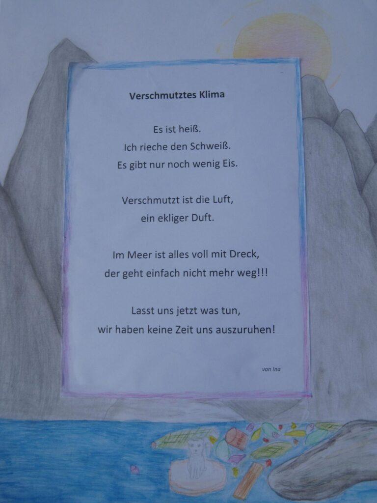 Politisches Gedicht von Ina.