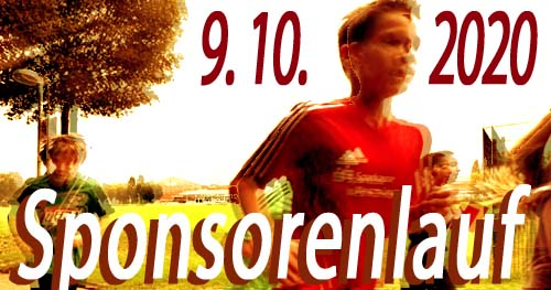 Der Sponsorenlauf am 9.10.2020.