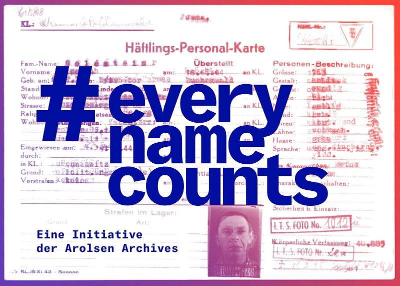 Jeder Name zählt.